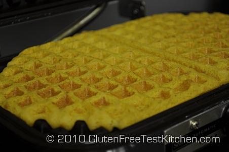 Gluten Free Pumpin Waffle Recipe